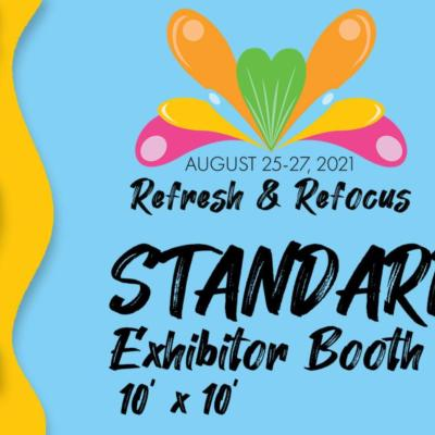 2021 OHRC - Refresh & Refocus; Standard Exhibitor Booth