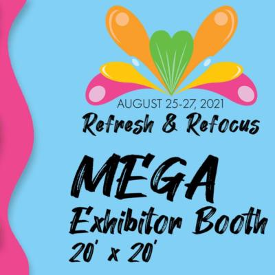 2021 MEGA Exhibitor Booth (20'x20')