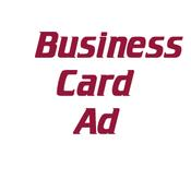 Advertisements - Business Card Ad