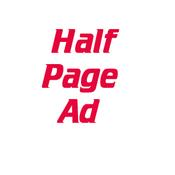 Advertisements - Half Page Ad